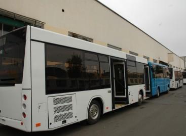 MAZ pristatys naują mokyklinį autobusą