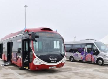 Į Baku gatves išvažiavo naujieji IVECO