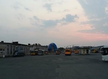 Oro balionas nusileido Vilniaus autobusų parko teritorijoje