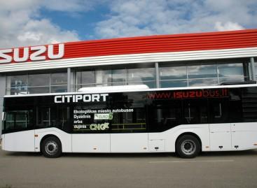 """Lietuvoje – """"Isuzu Citiport"""" miesto autobusas"""
