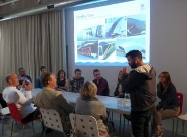 Dizaino kūrybinėse dirbtuvėse – modernaus transporto idėjos
