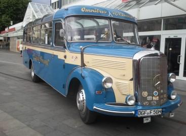 """""""Mercedes-Benz O 3500"""" – sėkmingiausias savo laikmečio autobusas"""