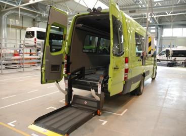 Numatyta kasmet skirti po 600 tūkst. eurų neįgaliesiems pritaikytiems mikroautobusams įsigyti