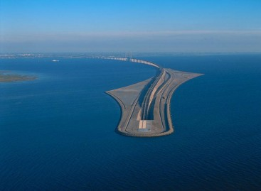 Danijoje – originalus tiltas-tunelis