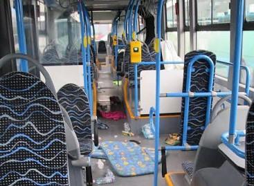 Kaip atrodė migrantus vežę Vengrijos autobusai?