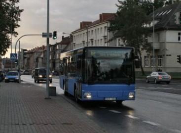 Eismo sąlygos autobusams šiemet Klaipėdoje prastesnės