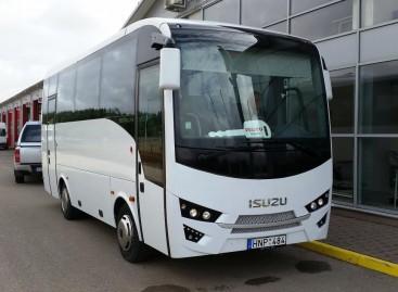 """Rokiškio autobusų parke – naujas """"Isuzu Novo Ultra"""""""