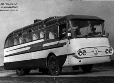 """LAZ-698 """"Karpaty"""" – vienintelis ir nepakartojamas"""