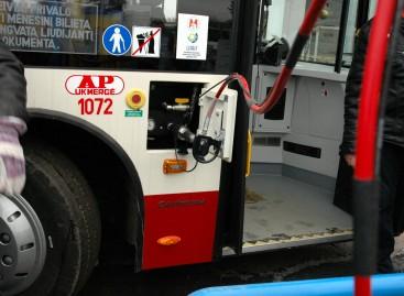 Lietuvos miestų autobusai jau gali važiuoti naudodami vandenilį