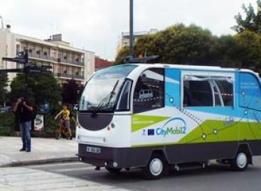 Graikijos mieste – pirmieji bepiločiai autobusai