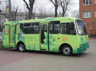 Pirmasis ukrainietiškas elektrinis autobusas jau veža keleivius