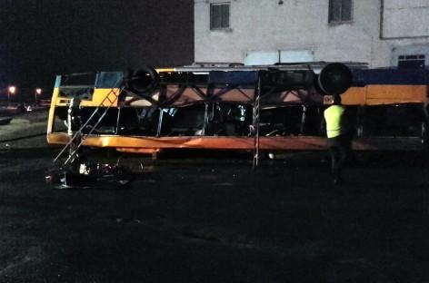 Vilniaus autobusų parke – degančio autobuso gelbėjimo operacija