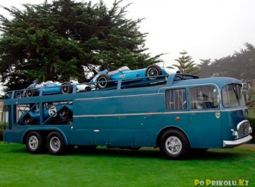 Originalūs ir gražūs autobusai
