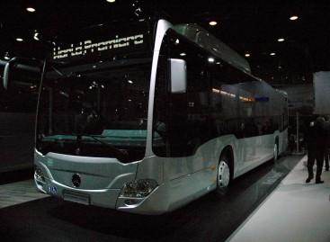 """Busworld Europe 2015"" – pasaulinė dujinio ""Mercedes-Benz"" premjera"