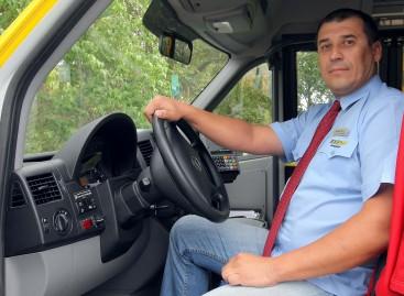 Kauno maršrutinio taksi vairuotojas: džiaugiuosi pagerėjusiomis darbo sąlygomis