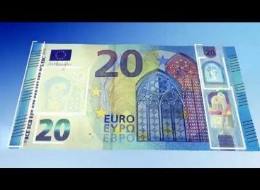Išleidžiamas naujos serijos 20 eurų nominalo banknotas pareikalaus budrumo