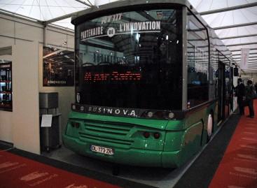 """""""Busworld Europe"""" – """"dvigalvis"""" prancūziškas """"Businova"""""""