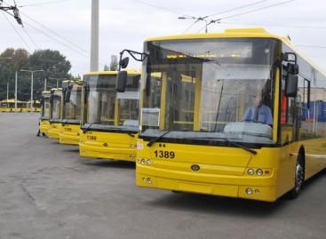 Kijeve – nauji troleibusai