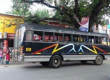 Studentas nuvarė autobusą, kad laiku suspėtų į egzaminą