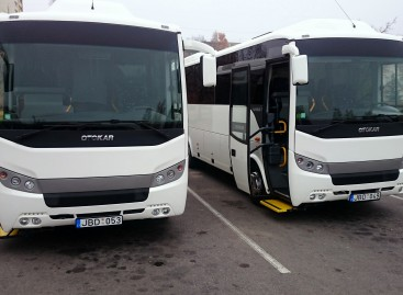 Jonavoje – dar du nauji autobusai
