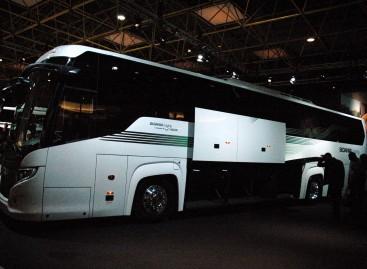 """""""Busworld Europe 2015"""" – nauja """"Scania"""" autobusų koncepcija"""