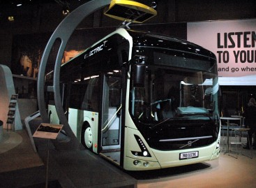 """Busworld Europe 2015"" – elektrinis ""Volvo"""