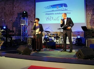 Klaipėdos autobusų parkas paminėjo 60-mečio jubiliejų