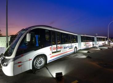 """""""Scania"""" sukūrė gigantišką autobusą"""