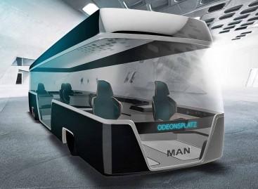 """MAN """"Busworld Europe"""" pristatė ateities autobuso viziją"""