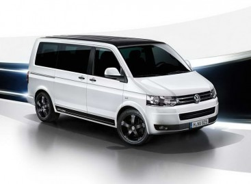 """Volkswagen Multivan"" jubiliejui – naujas automobilis"