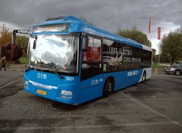 """""""Busworld Europe"""" – elektrinis """"Ebusco"""" iš Nyderlandų"""