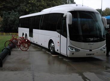 """""""Irizar"""" naujovės """"Busworld"""" parodoje"""