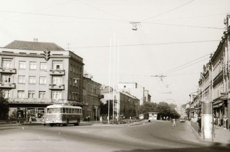 Prieš 50 metų į Kauno gatves išriedėjo pirmasis troleibusas