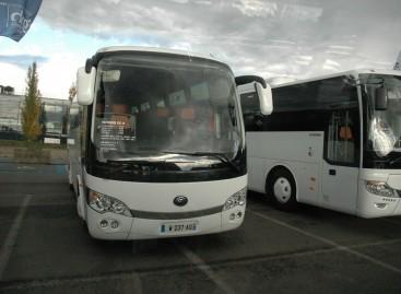 """""""Busworld"""" parodoje – kinietiški autobusai"""