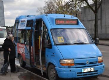 Alytaus miesto mikroautobusų judėjimas – realiuoju laiku