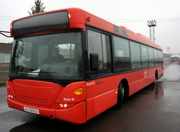 """Kaune – penkiolika naujesnių """"Scania OmniCity"""""""