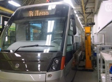 Naujas tramvajus – Ukrainos sostinei