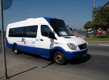 Rygoje – mažiau mikroautobusų maršrutų