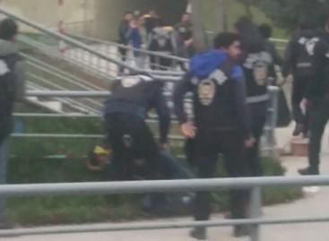 """Turkijoje akmenimis apmėtytas """"Lokomotiv"""" autobusas"""