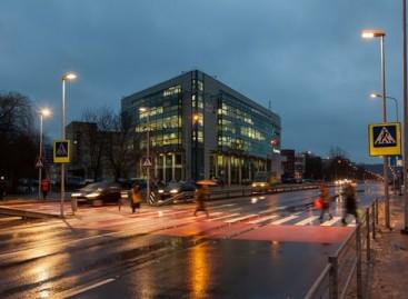 Vilniaus pėsčiųjų perėjose – modernūs ekonomiški šviestuvai