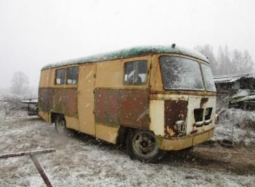 Trakų rajone atrastas istorinis lietuviškas automobilis  KAG