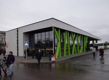 Raseiniuose – nauja autobusų stotis