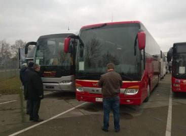 """Grupė keleivių vežėjų lankėsi """"BusStore2016"""""""