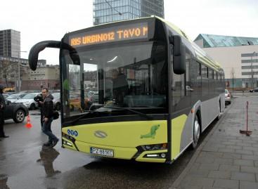 """Aiškėja, kokiais maršrutais sostinėje važinės naujasis """"Solaris Urbino"""""""