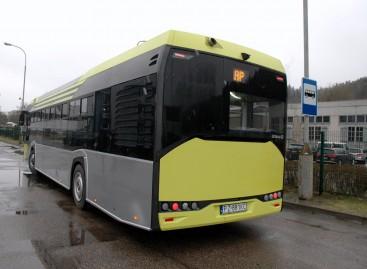 """""""Solaris"""" autobusai turės padangų slėgio jutiklius"""