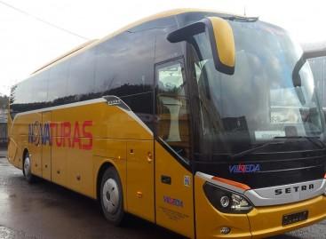 """Lietuvoje – dar keturi nauji """"Setra"""" autobusai"""