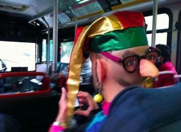 Keisti žmonės – viešajame transporte
