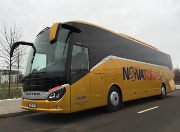 """Naująjį """"Vilnedos"""" autobusą galės pamatyti didžiųjų Lietuvos miestų gyventojai"""