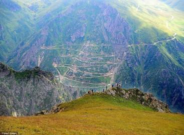 Pavojingiausias pasaulyje kelias – Turkijoje