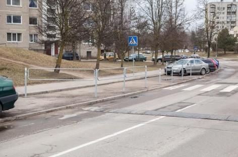 Vilniuje – saugesnės pėsčiųjų perėjos